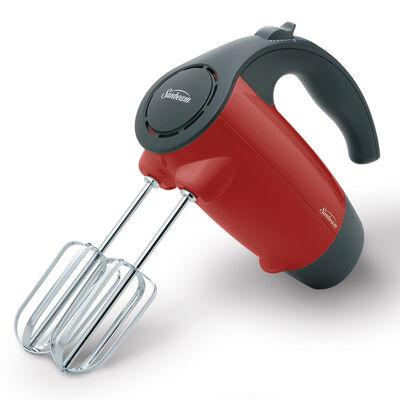 Sunbeam® Mixmaster® 200-Watt Hand Mixer, Red