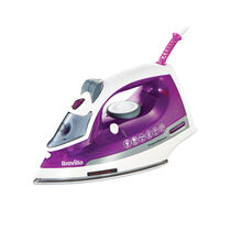 Super Steam 2200w Safe Store Steam Iron, Ceramic Soleplate