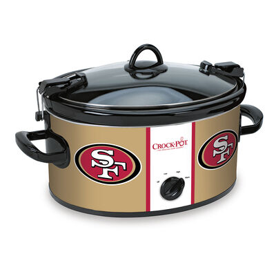 San Francisco 49ers NFL Crock-Pot® Cook & Carry™ Slow Cooker