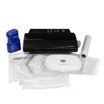 The FoodSaver® V2432 Vacuum Sealing System with Blue FreshSaver® Handheld Sealer