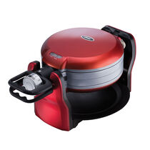 Oster® DuraCeramic™ Titanium Infused Double Flip Waffle Maker