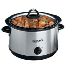 Crock-Pot® Manual Slow Cooker with Little Dipper® Warmer, Silver