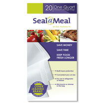 Seal-a-Meal® 1-Quart Bags, 20 Pack