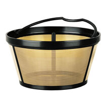 Coffeemaker Gold Tone Permanent Filter, 10-12 Cup, Cup Style