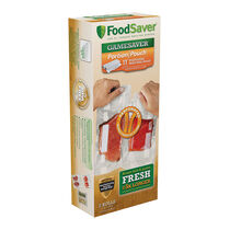 "FoodSaver® GameSaver® 11"" x 16' Portion Pouch Heat-Seal Rolls, 2 Pack"