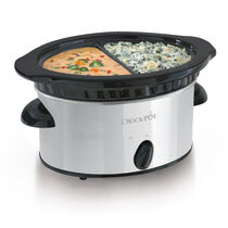 Crock-Pot® Double Dipper™ Food Warmer, Stainless Steel