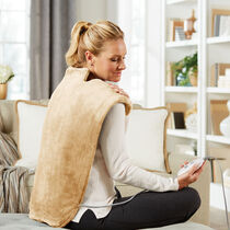 Sunbeam® Massaging Renue® Extended Back Heat Therapy Wrap