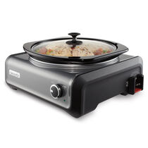 Crock-Pot® Hook Up® 5-Qt Round Slow Cooker
