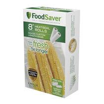 "FoodSaver®  8"" x 20' Heat-Seal Roll, 2 Pack"