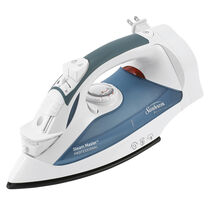 Sunbeam® GreenSense™ SteamMaster® Full Size Professional Iron with Retractable Cord and ClearView™, White