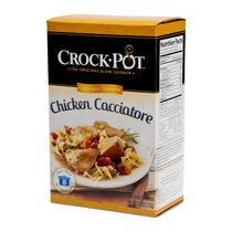 Crock-Pot® Delicious Dinner, Chicken Cacciatore