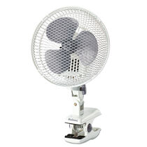Holmes® Oscillating Clip Fan-White