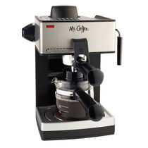Mr. Coffee® Steam Espresso and Cappuccino Maker