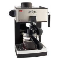 Mr. Coffee® Steam Espresso and Cappuccino Maker, ECM160-RB