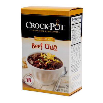 Crock-Pot® Delicious Dinner - Beef Chili