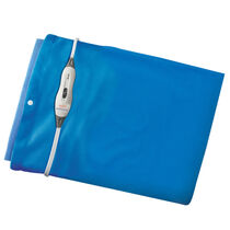 Sunbeam® Moist / Dry Heat Heating Pad with LED Controller, Newport Blue