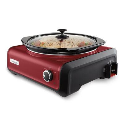 Crock-Pot® Hook Up™5 Qt Oval Slow Cooker