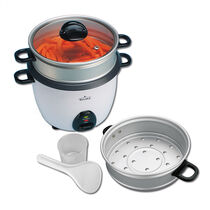 Rival® 10 Cup Rice Cooker with Steamer