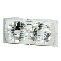 Holmes® Twin Window Fan with Reversible Air Flow Control