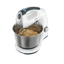 Digital Hand and Stand Mixer, 12 Speeds, 500w