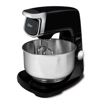 350-Watt 12-Speed all Die-Cast Stand Mixer, Black