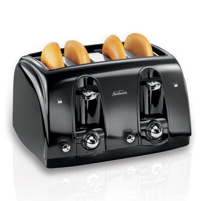 Sunbeam® 4-Slice Extra-Wide Slot Toaster, Black