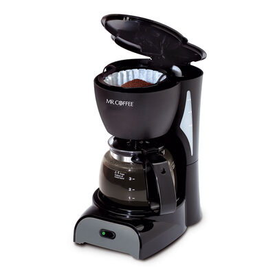 Mr. Coffee® Simple Brew 4-Cup Switch Coffee Maker Black, DR5-NP