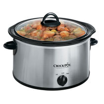 Crock-Pot® 4-Quart Manual Slow Cooker, Silver