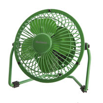 "Holmes® HNF0411A-GM Metal 4"" USB Fan - Green"