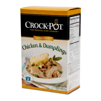 Crock-Pot® Delicious Dinner, Chicken & Dumplings