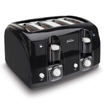 Sunbeam® 4-Slice Toaster, Black