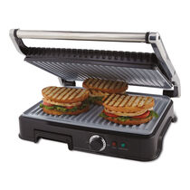 Oster® Extra Large Titanium Infused DuraCeramic™ Panini Maker and Indoor Grill