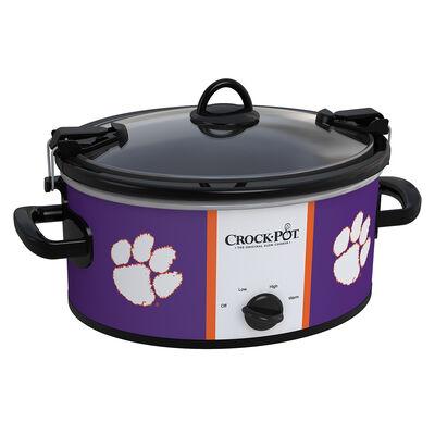 Clemson Tigers Collegiate Crock-Pot® Cook & Carry™ Slow Cooker