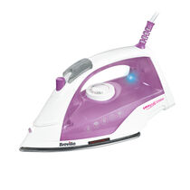 Easy Glide 2200w Steam Iron, Stainless Steel Soleplate