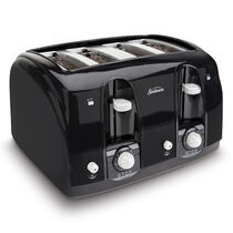 Sunbeam® 4-Slice Toaster, Black
