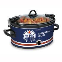 Crock-Pot® NHL® 6Qt Oval Manual Cook & Carry™ Slow Cooker, Edmonton Oilers®