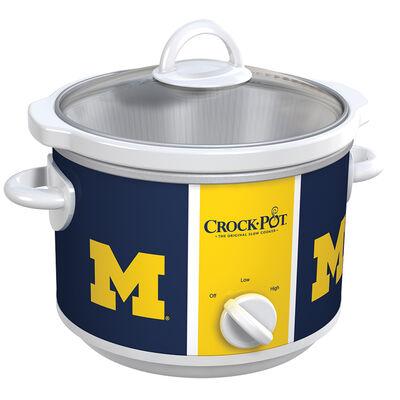 Michigan Wolverines Collegiate Crock-Pot® Slow Cooker