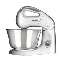 Twin Motor Hand and Stand Food Mixer, 10 speeds, 380w