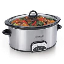 Crock-Pot® 7-Quart Smart-Pot® Slow Cooker, Brushed Stainless Steel