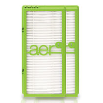aer1® HAPF300AHD True HEPA Allergen Remover Replacement Filter - Double Pack