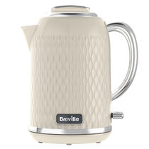 Curve 1.7L Jug Kettle, Cream with Chrome