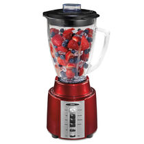 Oster® Rapid Blend™ 200 Blender - Metallic Red - Glass Jar