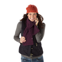 Sunbeam® Cozy Spot™ Heated Neck Scarf, Eggplant