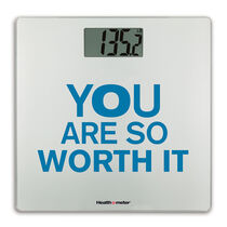 Digital Glass Scale, Encouragement Series - You Are So Worth It