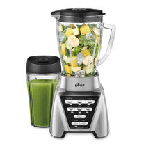 NEW Oster Pro™ 1200 Plus Smoothie Cup - Brushed Nickel - Glass Jar