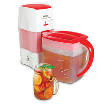 Iced Tea Maker, 3-Qt., Red