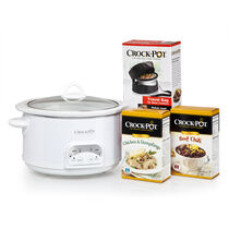 Crock-Pot® 5-Quart Slow Cooker Starter Kit