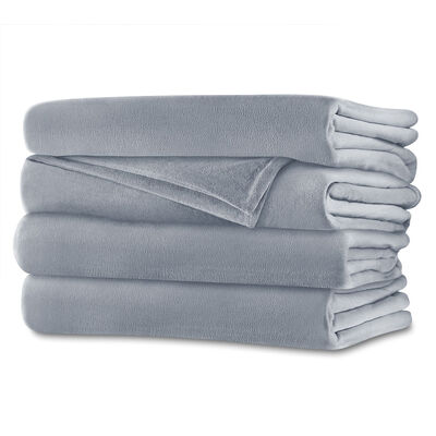 Sunbeam® Full Royalmink™ Heated Blanket, Breeze