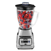 Oster®  Pure Blend™ 300 Blender - Brushed Nickel - Glass Jar