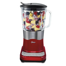 Oster® Liquefy Blend™ 200 Blender - Metallic Red - Glass Jar